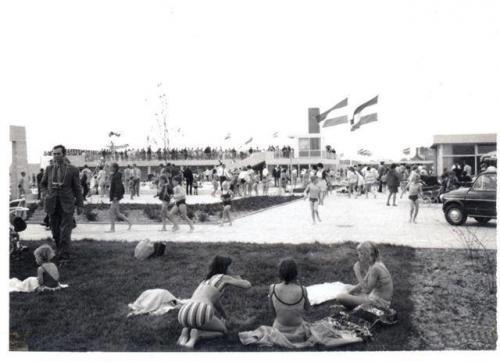 Zwembad de Meerval 1970